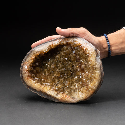 Citrine Quartz Crystal Cluster From Brazil (3.8 lbs)