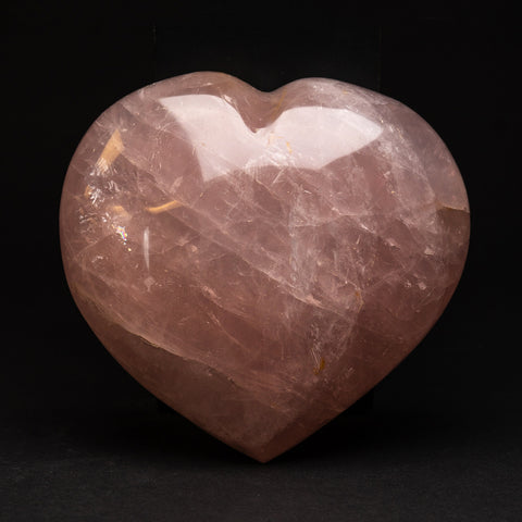 Polished Rose Quartz Heart from Brazil (3.5 lbs)