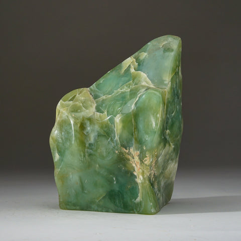 Polished Green Jade Freeform from Pakistan (13.6 lbs)