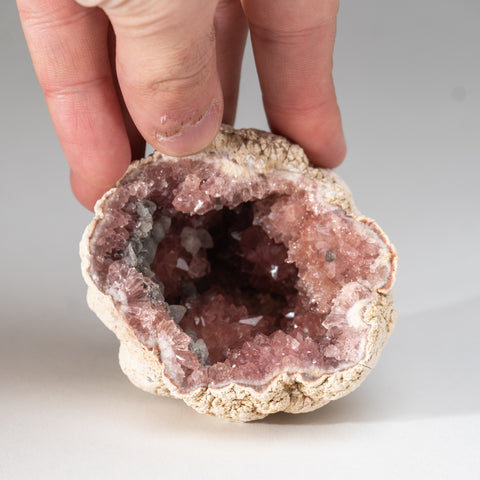 Pink Amethyst Geode Cluster from Neuquén Argentina (228 grams)