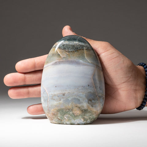 Polished Ocean Jasper from Madagascar (1.6 lbs)