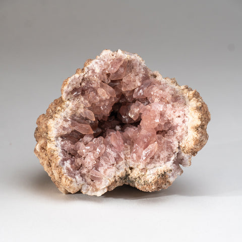 Pink Amethyst Geode Cluster from Neuquén Argentina (524.5 grams)