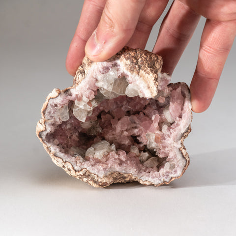 Pink Amethyst Geode Cluster from Neuquén Argentina (304.9 grams)