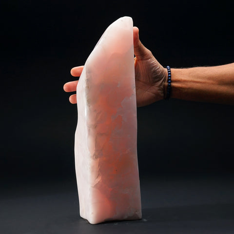 Polished Pink Mangano Calcite from Pakistan (13.6 lbs)