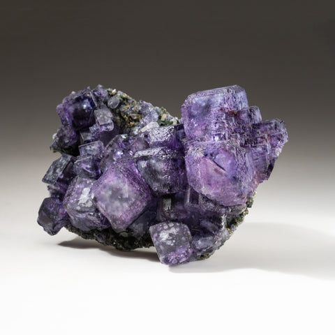 Purple Fluorite Cluster from Kinvarra, Connemara, County Galway, Ireland
