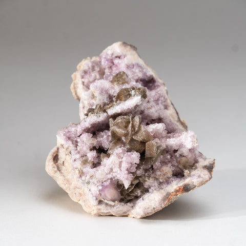 Pink Amethyst Geode Cluster from Neuquén Argentina (336.7 grams)