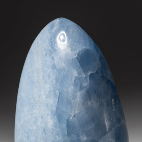 Blue Calcite Freeform from Madagscar (2.4 lbs)