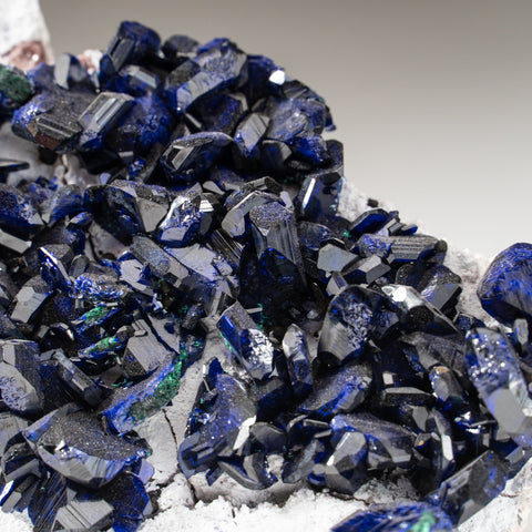 Azurite with Malachite from Milpillas Mine, Cuitaca, Sonora, Mexico