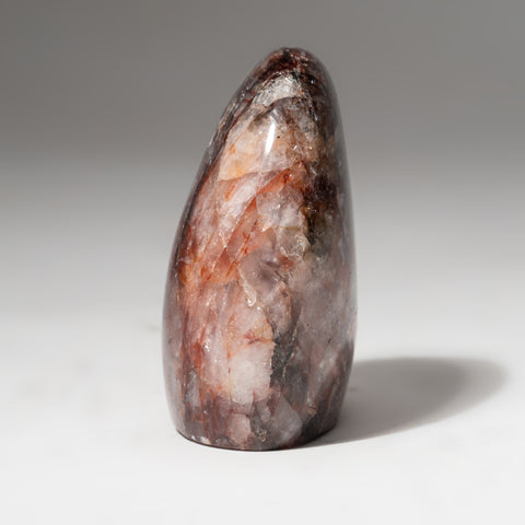 Polished Strawberry Quartz Freeform from Madagascar (303.3 grams)