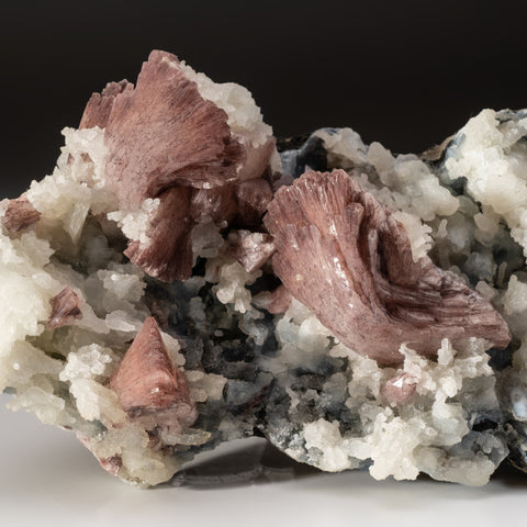 Chocolate Heulandite on Chalcedony matrix Sawda, Maharashtra, India