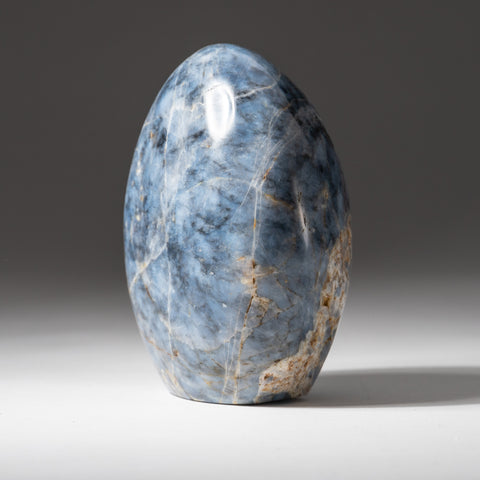 Polished Blue Quartz Freeform From Madagascar (1.8 lbs)