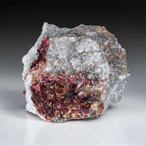 Erythrite From Bou Azer District, Tazenakht, Ouarzazate Province, Souss-Massa-Draâ Region, Morocco
