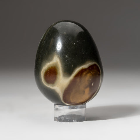 Polished Polychrome Egg from Madagascar (259 grams)