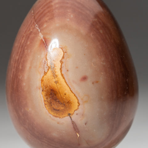 Polished Polychrome Egg from Madagascar (231.5 grams)