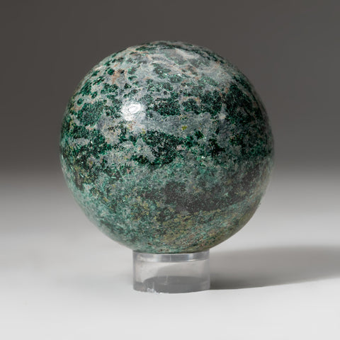 "Polished Ruby in Fuchsite Sphere (2.75"" 1.2 lbs)"