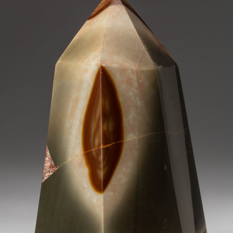 Polished Polychrome Point from Madagascar (.8 lbs)