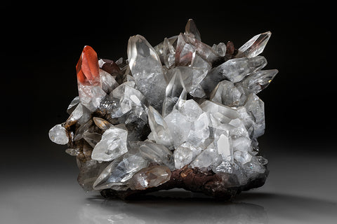 Calcite from Bigrigg Mine, West Cumberland Iron Mining District, Cumbria, England