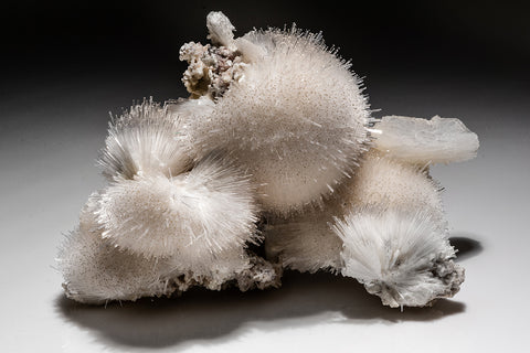 Scolecite with Stilbite From Jalgaon District, Maharashtra, India