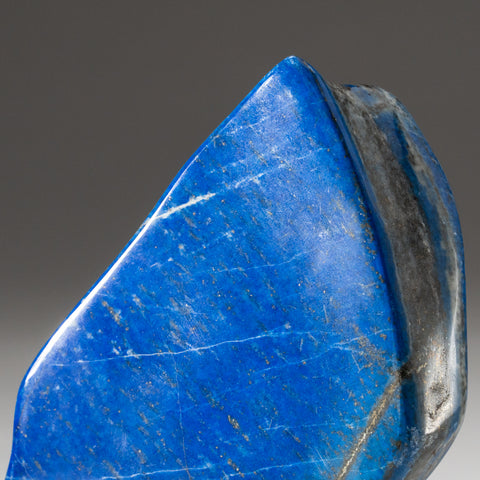 Polished Lapis Lazuli Freeform from Afghanistan (1.3 lbs)