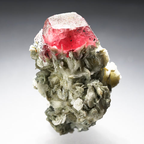 Fluorapatite with Muscovite from Hunza Valley, Gilgit-Baltistan, Pakistan