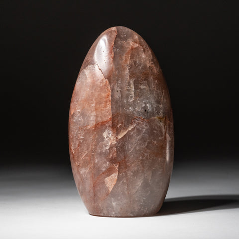 Polished Strawberry Quartz Freeform from Madagascar (1.8 lbs)