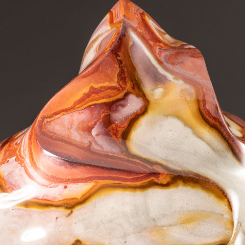 Polished Polychrome Flame Freeform from Madagascar (10.4 lbs)