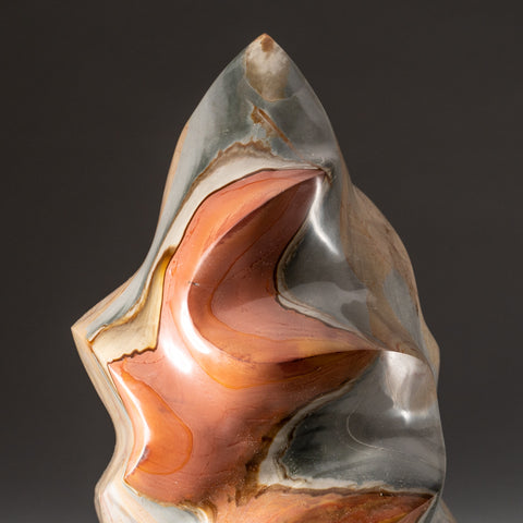 Polished Polychrome Flame Freeform from Madagascar ( 11.4 lbs)
