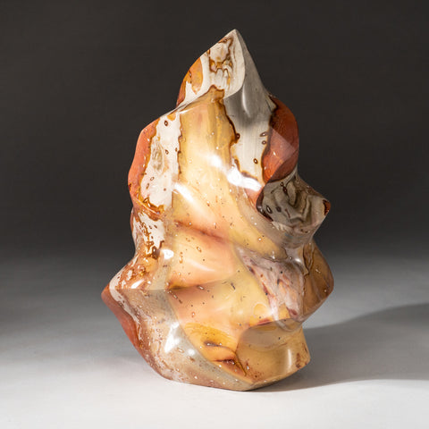 Polished Polychrome Flame Freeform from Madagascar (9 lbs)