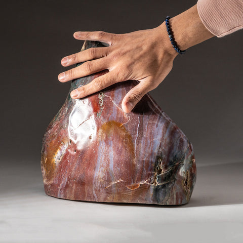 Polished Ocean Jasper from Madagascar (26 lbs)