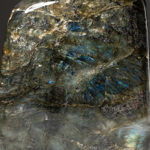 Polished Labradorite Freeform from Madagascar (1.8 lbs)