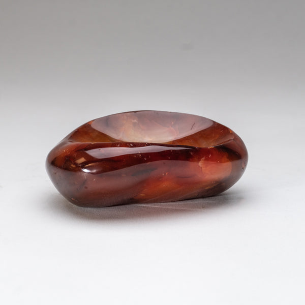Polished Carnelian Agate Soap Dish (1.5 lbs)