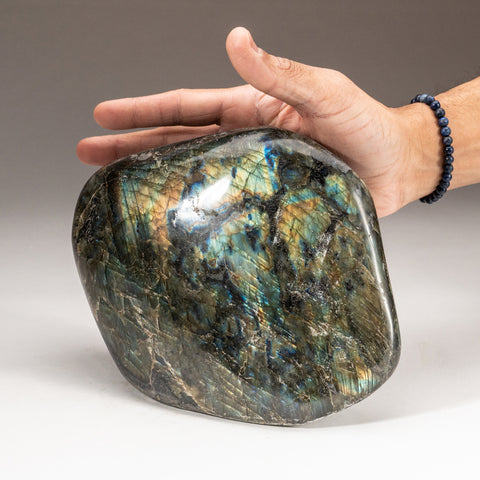 Polished Labradorite Freeform from Madagascar (8.4 lbs)