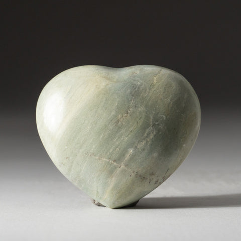 Genuine Polished Serpentine Heart (175 grams)