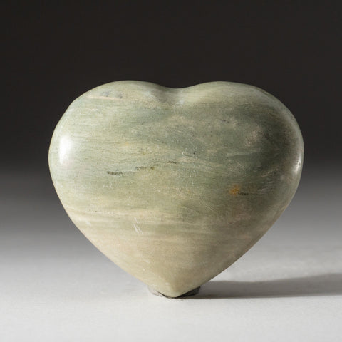 Genuine Polished Serpentine Heart (279.4 grams)