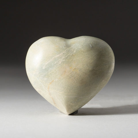 Genuine Polished Serpentine Heart (275.4 grams)