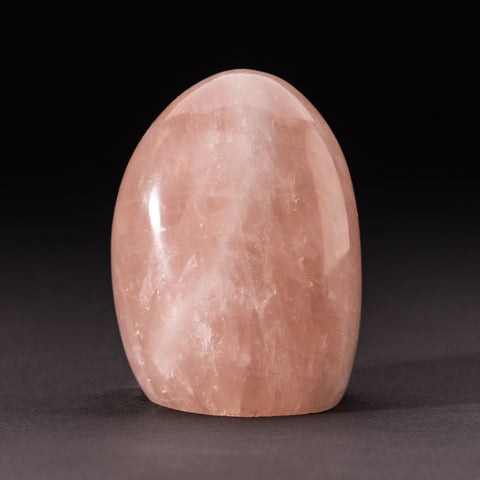 Polished Rose Quartz Freeform From Madagascar (1.2 lbs)