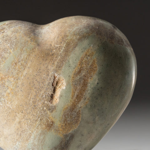 Genuine Polished Green Serpentine Heart (1.5 lbs)