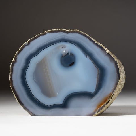 Blue Banded Agate Freeform From Brazil (3 lbs)