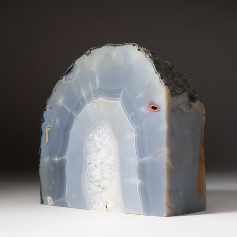 Blue Banded Agate Freeform From Brazil (4.8 lbs)