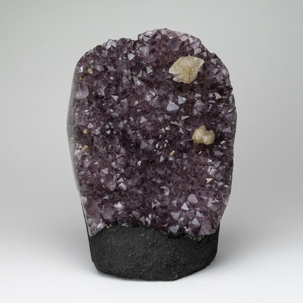 Amethyst Cluster with Calcite from Brazil (12 lbs)