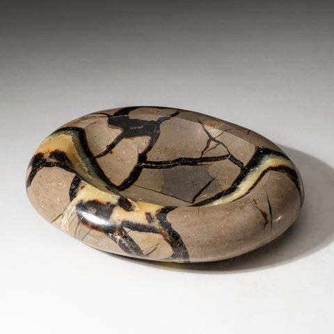 Polished Septarian Dish from Madagascar (1.8 lbs)