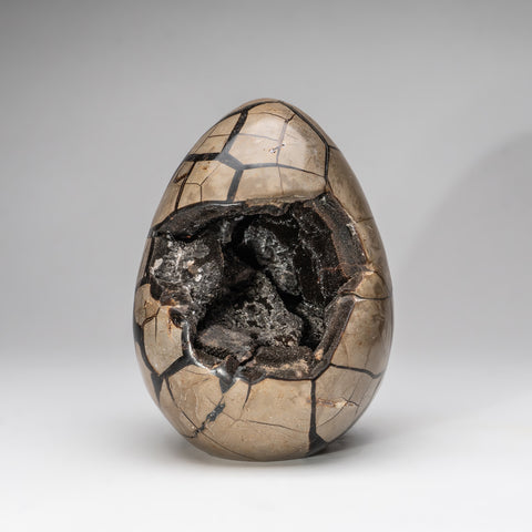 Septarian Druzy Egg from Madagascar (9.5 lbs)