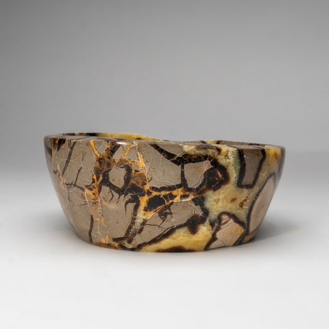 Polished Septarian Bowl from Madagascar (7.5 lbs)