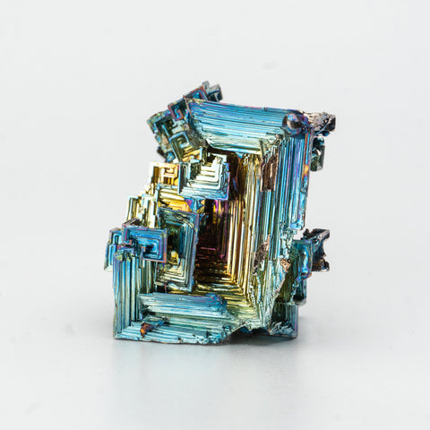 Genuine Bismuth Crystal (216.2 grams)