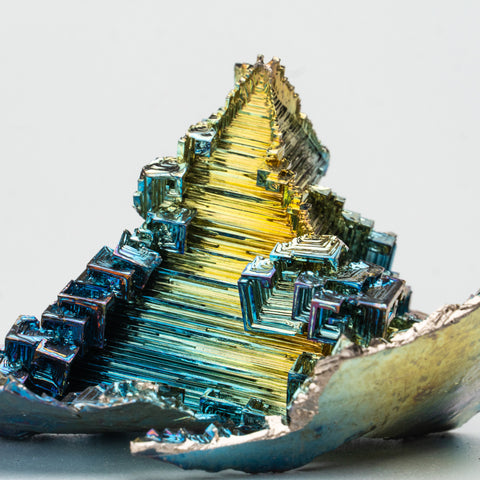Genuine Bismuth Crystal (201.3 grams)