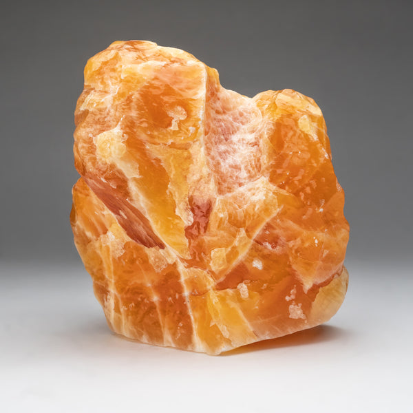 Orange Calcite Crystal from Mexico (14.5 lbs)