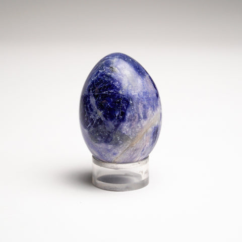 Polished Sodalite Egg from Brazil (88 grams)