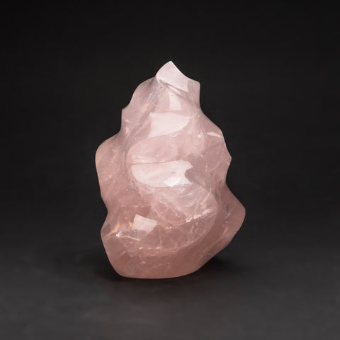 Polished Rose Quartz Flame Freeform From Brazil (4.5 lbs)