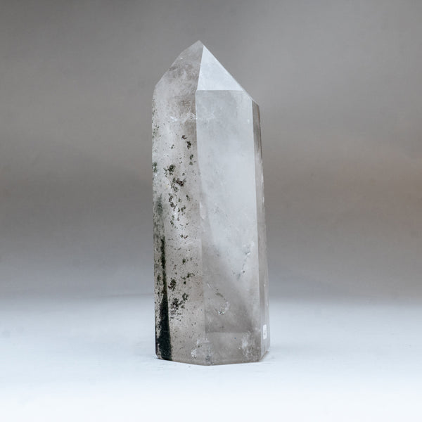 Gem Garden Quartz Polished Point From Brazil (2.5 lbs)