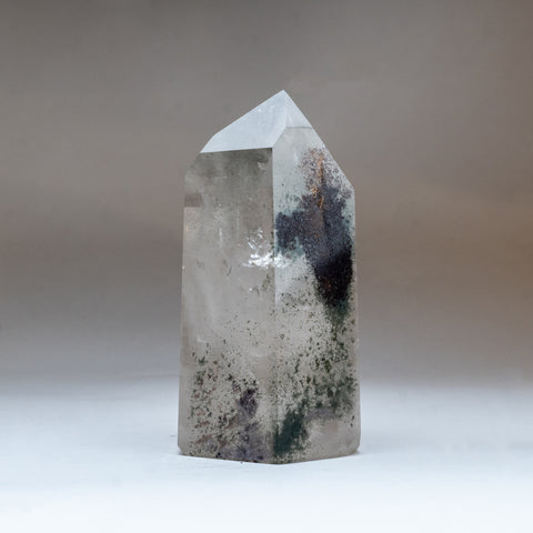 Gem Garden Quartz Polished Point From Brazil (3.5 lbs)